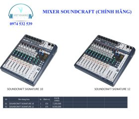 MIXER SOUNDCRAFT 2